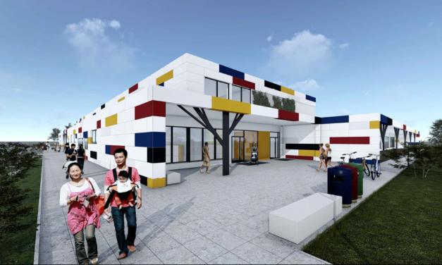W Kiełczowie powstaje modułowy żłobek i przedszkole