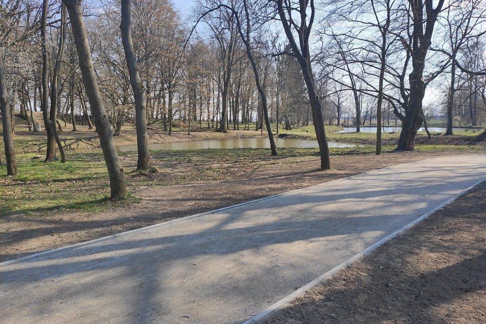 Park w Siedlcu wypiękniał