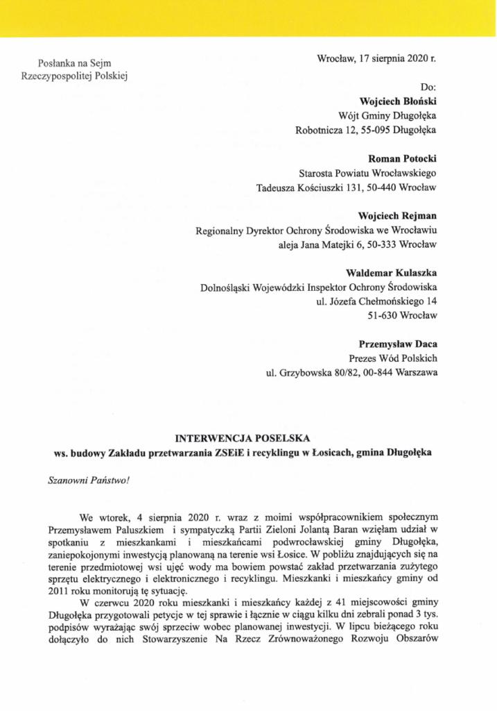 image 717x1024 - Jest interwencja poselska w sprawie zakładu w Łosicach