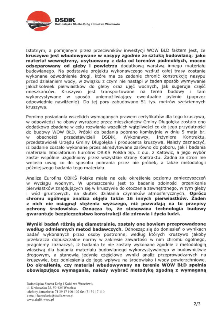 image 1 727x1024 - DSDiK przedstawia raport z badań kruszywa wykorzystywanego do budowy WOW